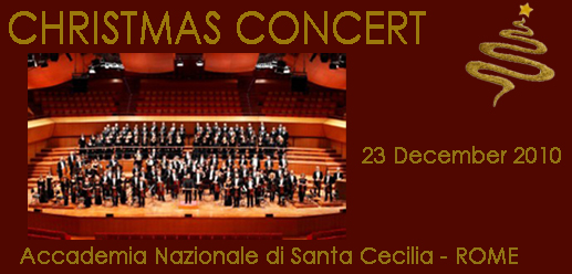 CHRISTMAS CONCERT IN ROME 2010